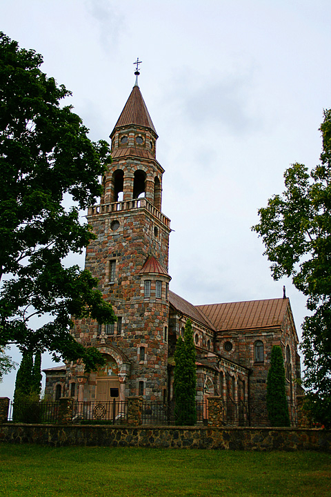 Višķi John Baptist Church Via @Atisgailis