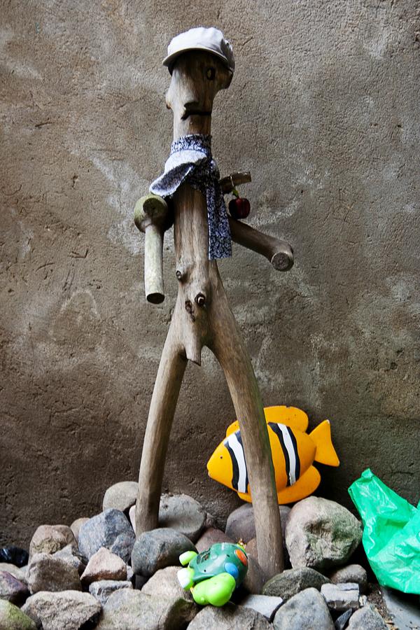 Wooden Man Via @Atisgailis