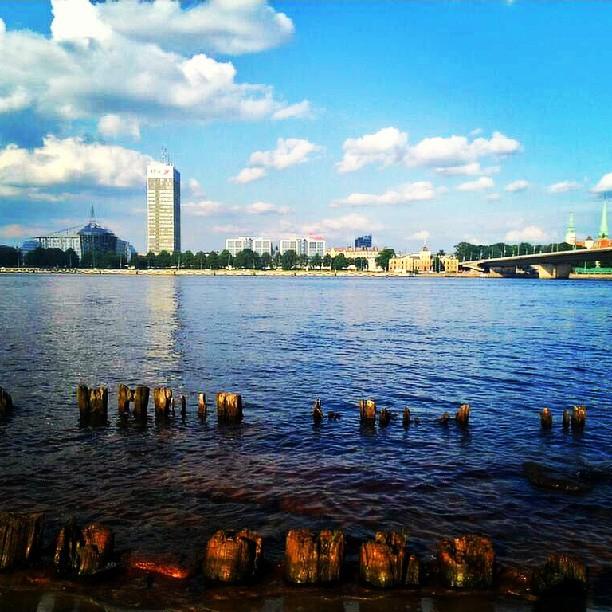 Riga. The Other Side. Via @Atisgailis
