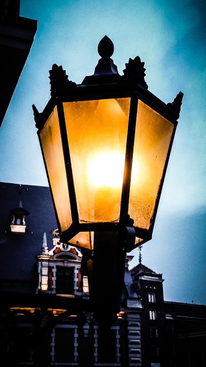 Lantern Of Old Riga Via @Atisgailis