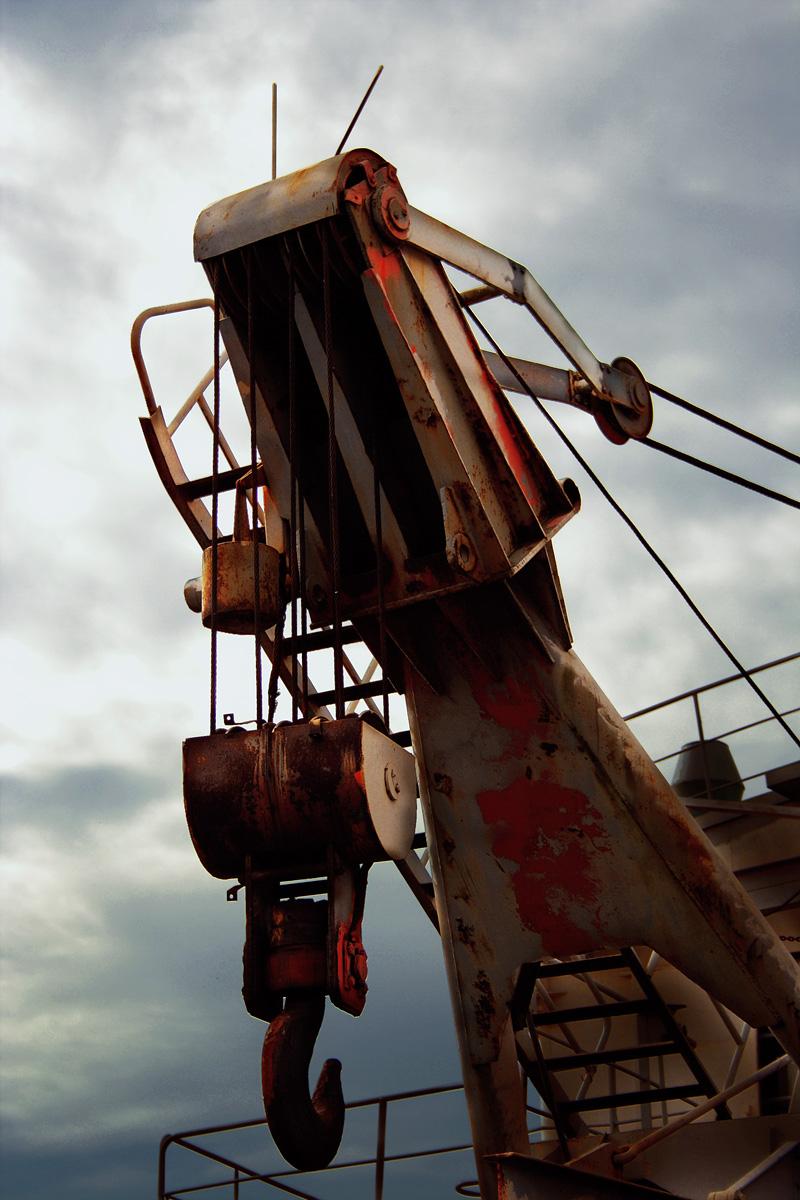 Ship Crane Via @Atisgailis