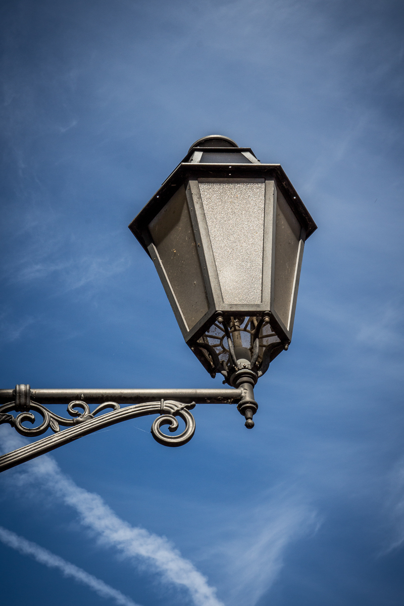 Lantern And Blue Sky Via @Atisgailis