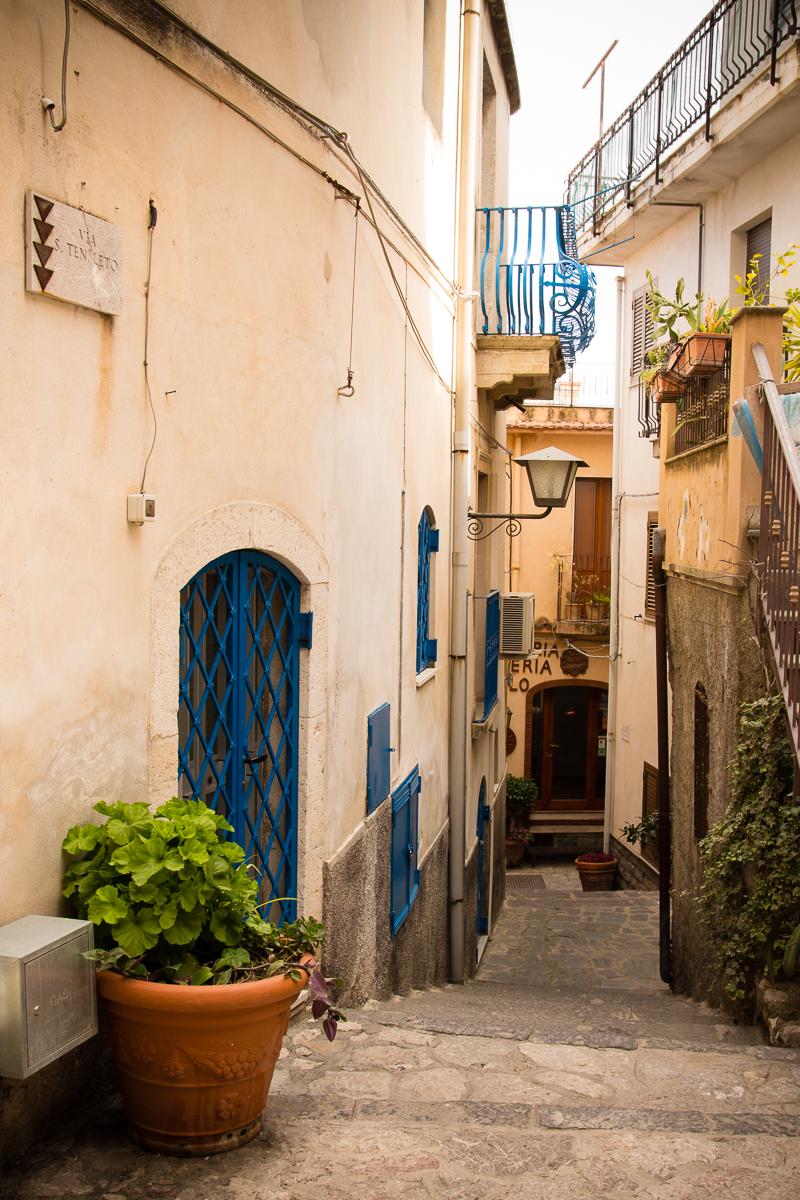 Narrow Street Of Taormina Via @Atisgailis