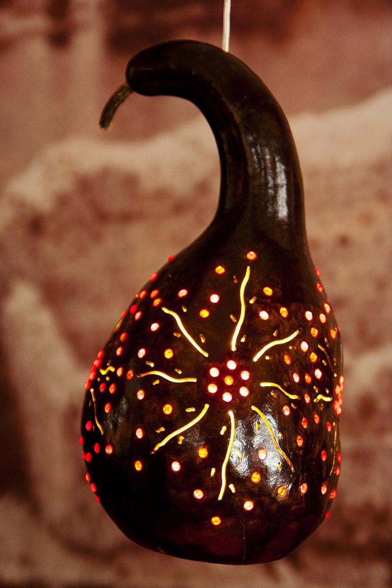 Pumpkin Lamp Via @Atisgailis