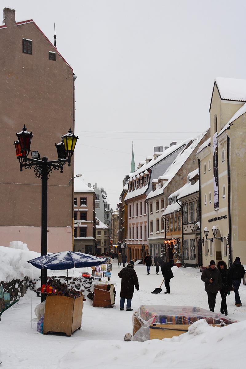 Riga In Winter Via @Atisgailis