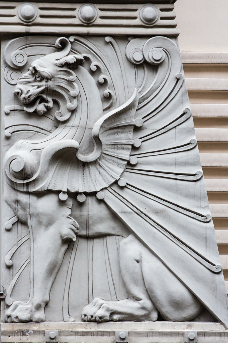 Winged Lion Via @Atisgailis
